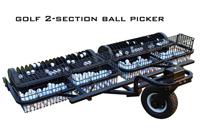 2 section golf ball picker