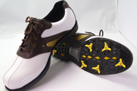 cow leather golf shoes