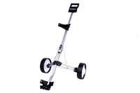 2 wheels handpush golf trolley